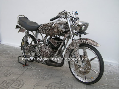 Motor kontes rxking Yamaha Rx king air brush
