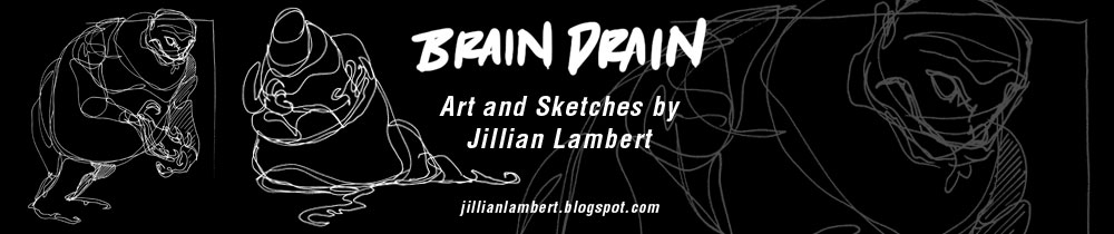 Brain Drain: Art and Sketches by Jillian Lambert
