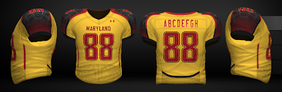 Maryland Football Uniforms 2011