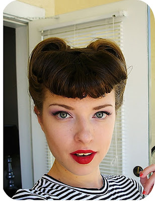 How to Create a Vintage Pompadour Updo Hairstyle