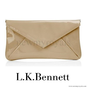 Queen Maxima Style LK BENNETT Clutch Bag