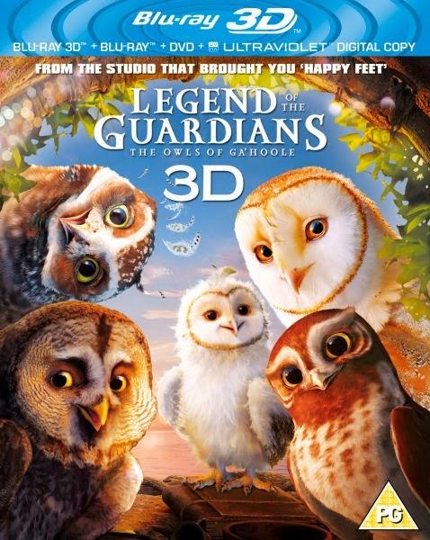 Ga'Hoole La Leyenda de los Guardianes 3D (2010) 1080p BRRip 3D SBS 2GB mkv Dual Audio AC3 5.1 ch