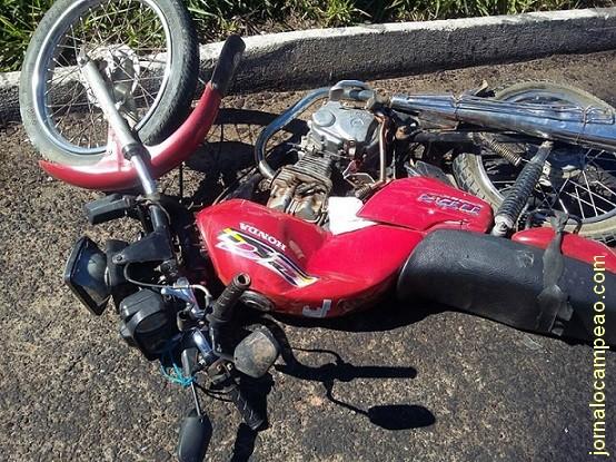 MOTOCICLISTA SOFRE GRAVE ACIDENTE