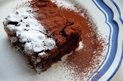Brownie met hazelnoten.