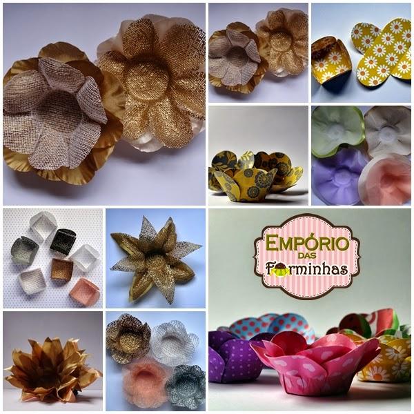 Forminhas personalizadas para doces finos Empório das Forminhas