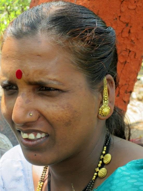 Woman with jewelery