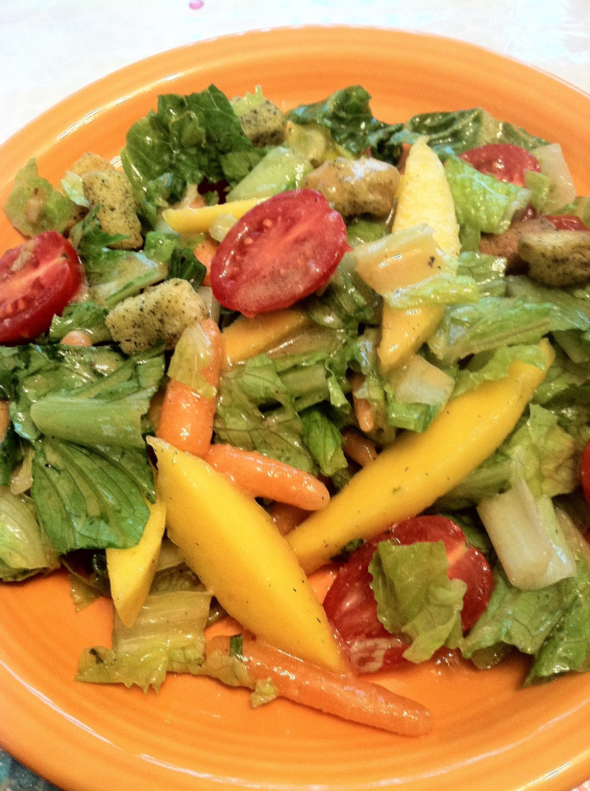 NYC Cooks: Magnificent Mango Salad