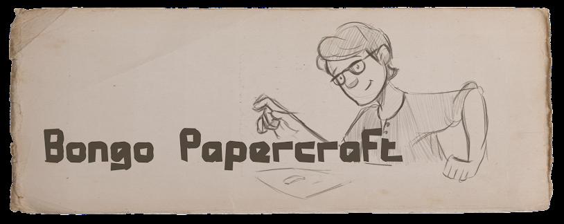 Bongo Papercraft