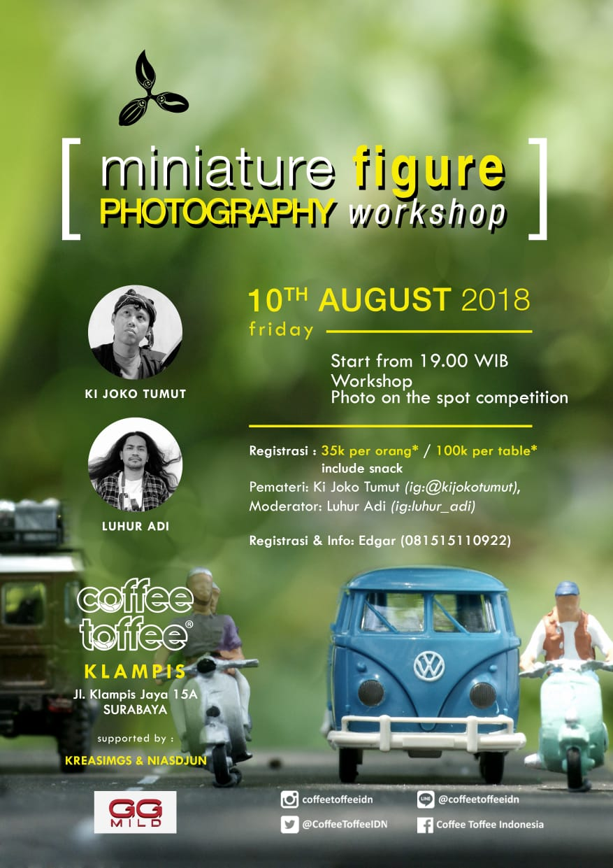 Miniature Figure Photography Workshop