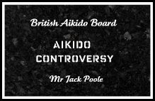 <b><em>The Aikido Controversy</em> </b>