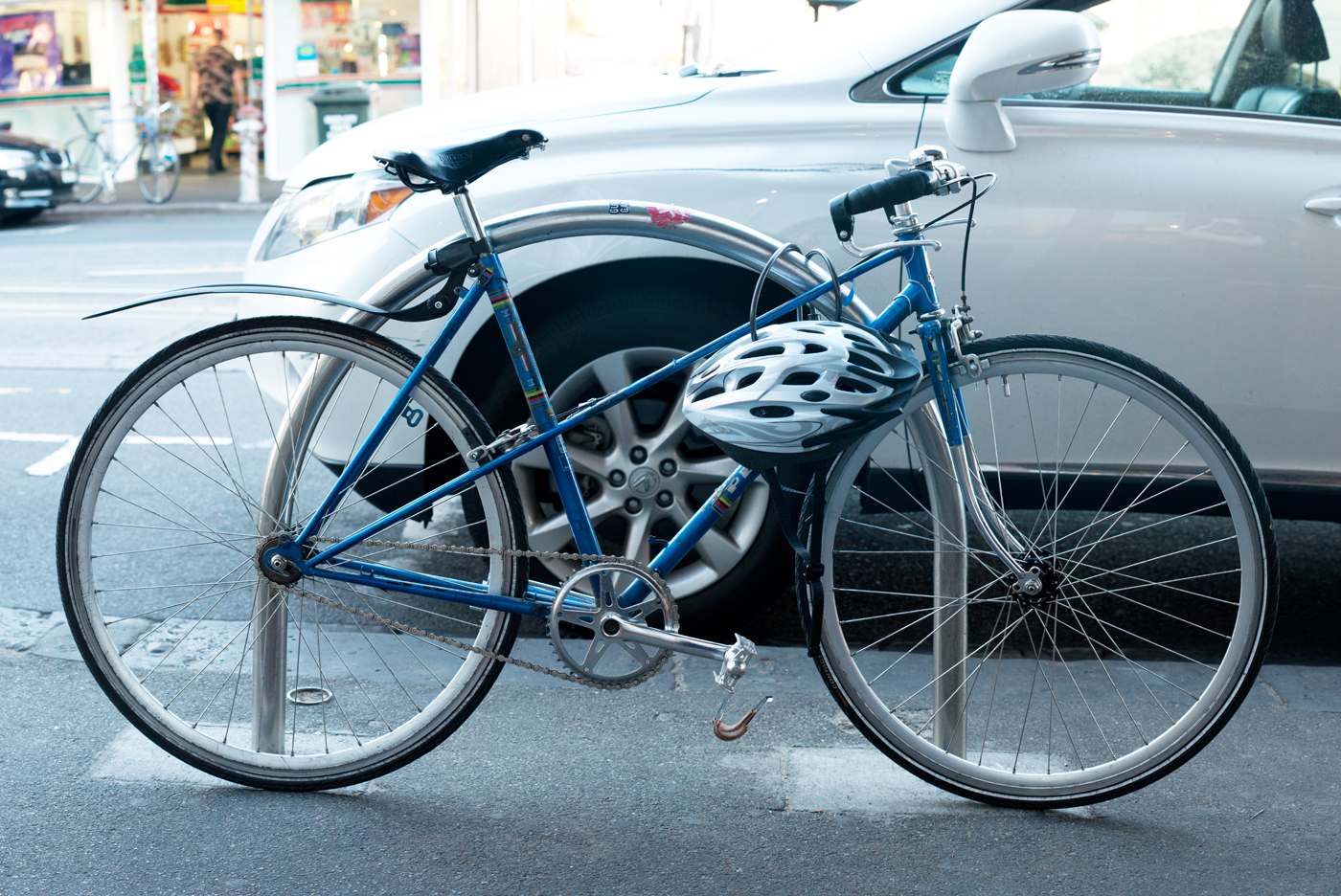 The Biketorialist: Peugeot mixte single speed conversion, Smith St ...