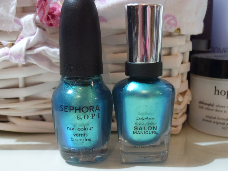 Sephora By OPI Mermaid To Order Nail Polish Dupe