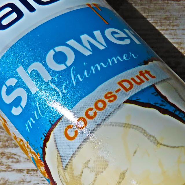 BALEA trblietavý sprchovací gél s vôňou kokosu