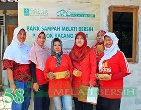 Bank Sampah Melati Bersih Pondok Kacang Timur Pondok Aren Kota Tangerang Selatan