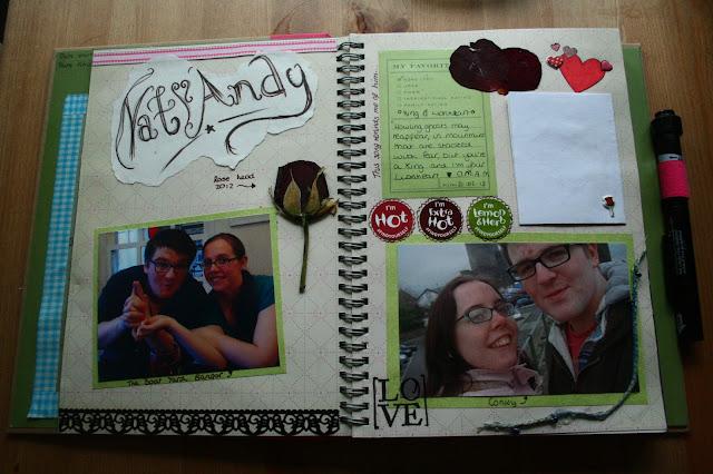 smashbook love scrapbook