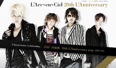 Larc En Ciel 20t Anniversary Concerts