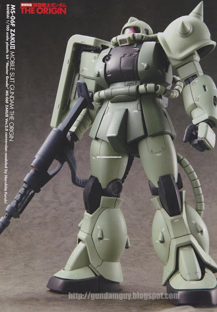 MS-06F Zaku II MSG The Origin