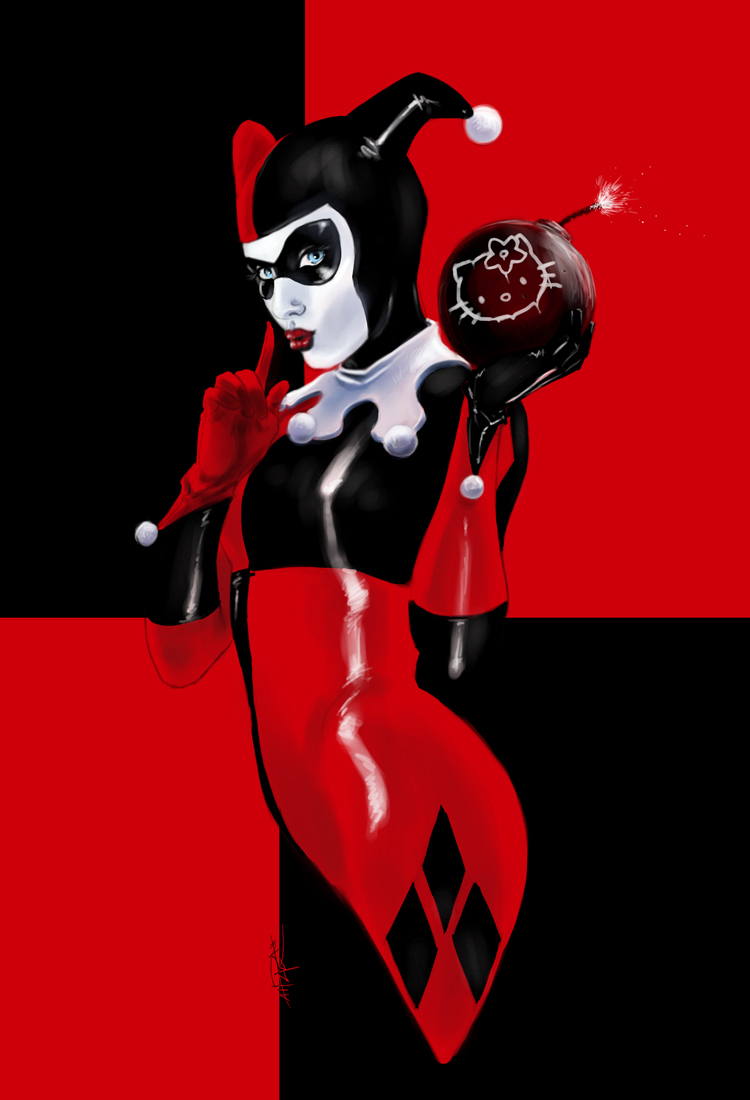 Fashion And Action Harley Quinn April Fools Day Fan Art