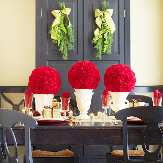 Modern furniture ideas for christmas centerpieces