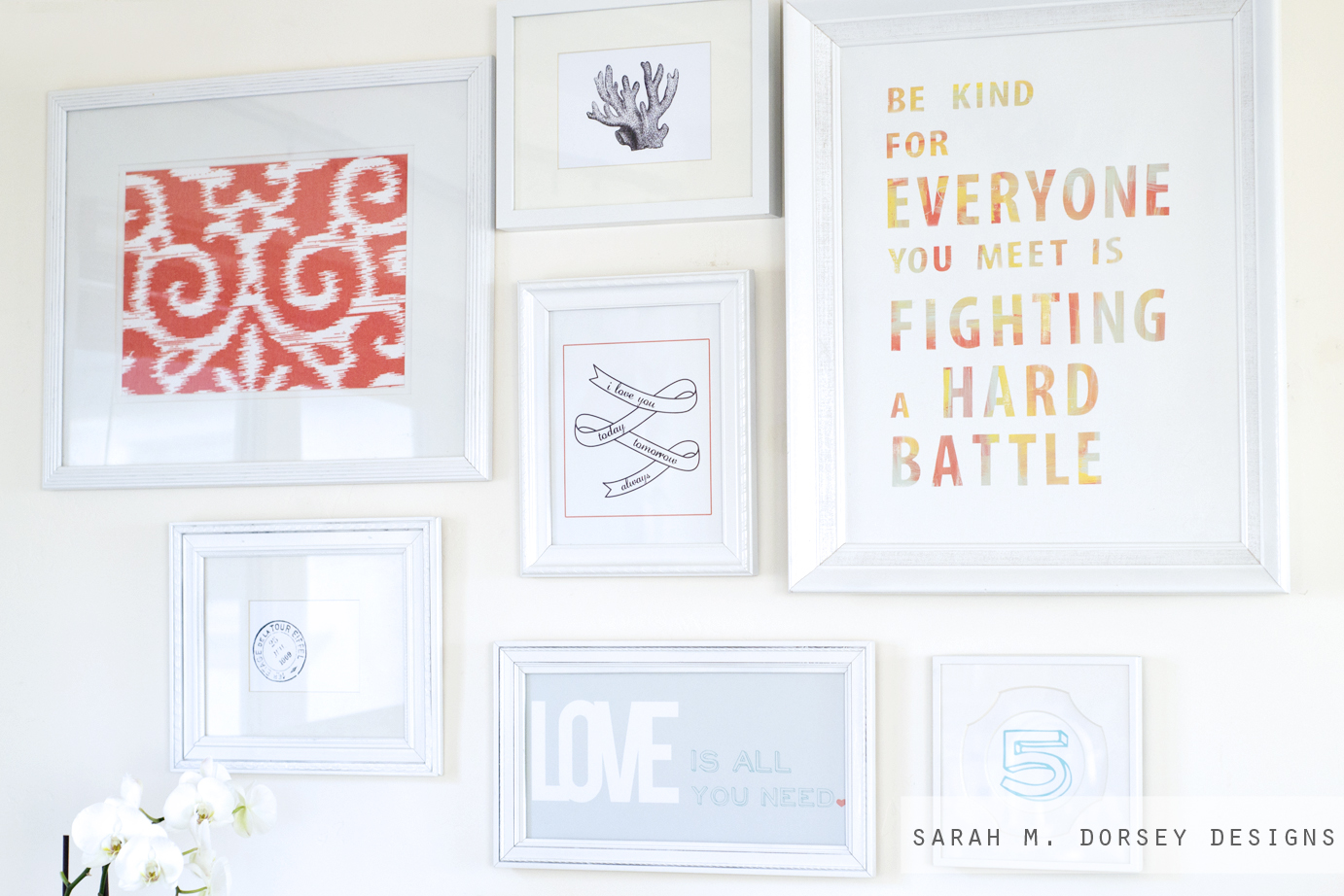 This is a picture of Remarkable Gallery Wall Printables