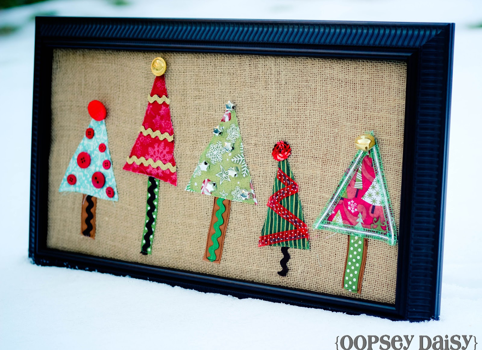 Christmas tree wall art swell noel 34 positively for Christmas tree arts and crafts