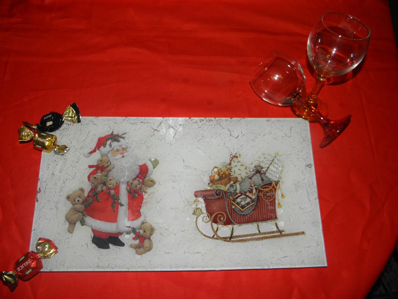 Vicky y su espacio bandeja para navidad for Bandejas de navidad