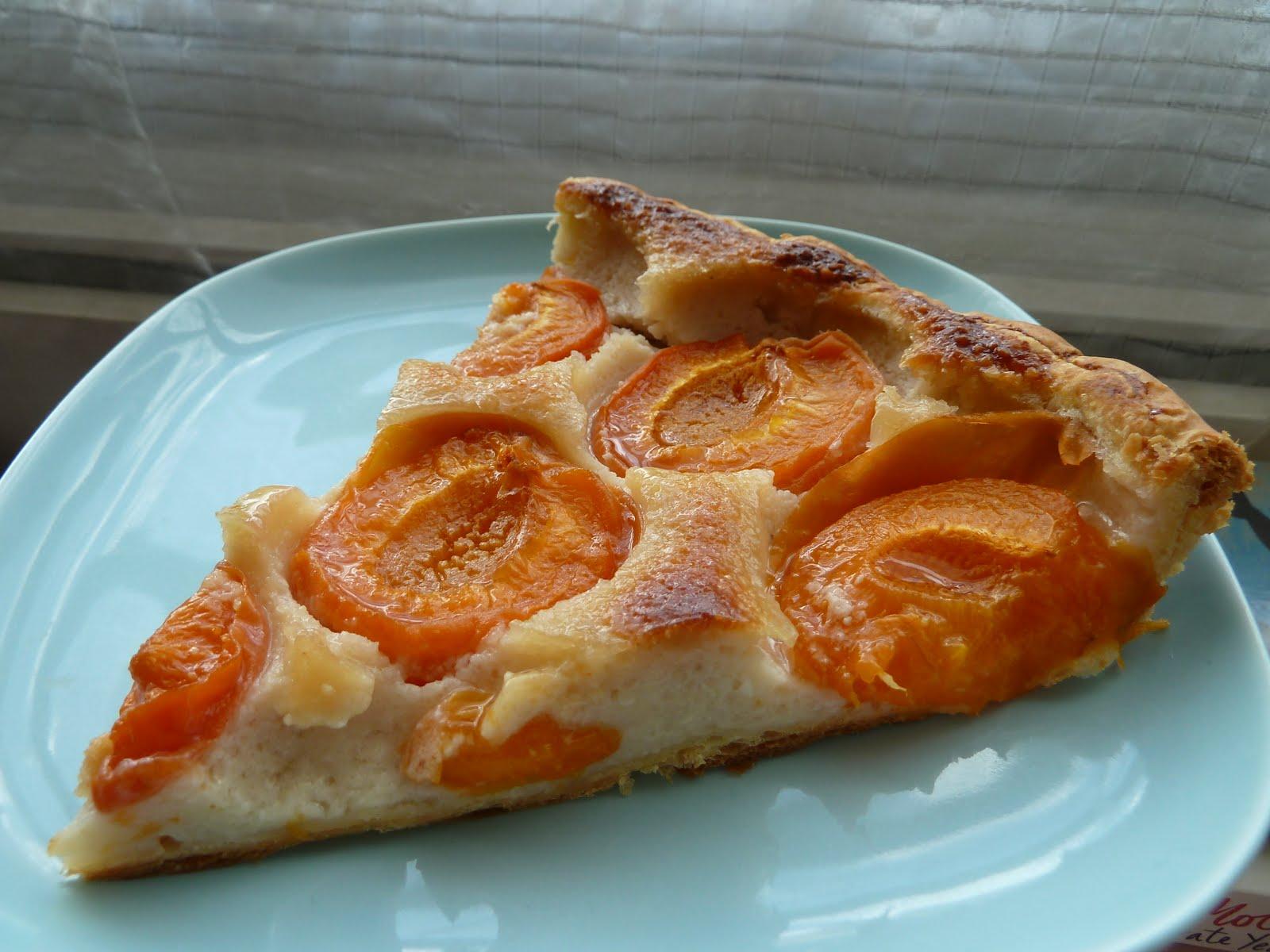 Tarte Abricots - Amandes