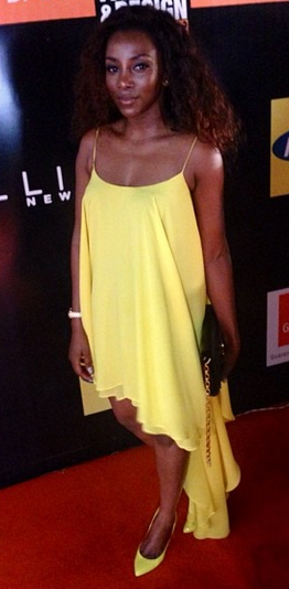 genevieve nnaji lagos fashion week