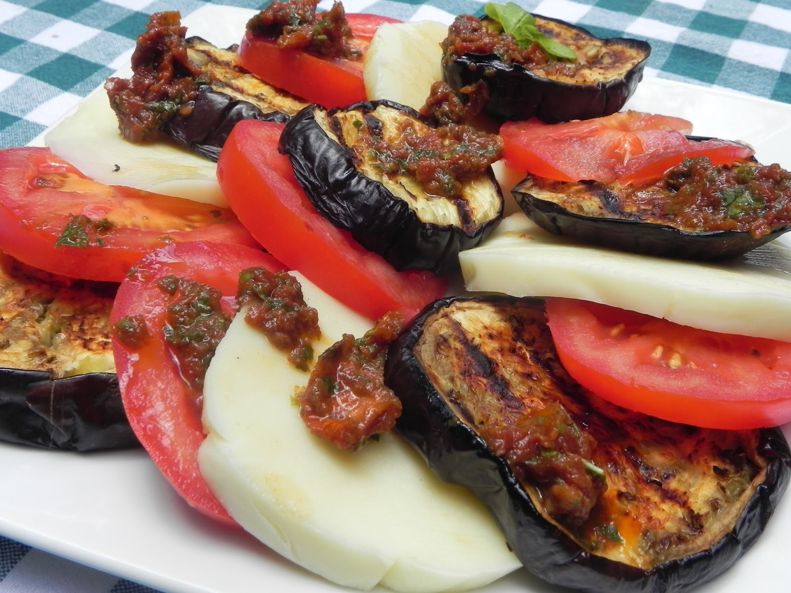 Eggplant Caprese Recipe — Dishmaps