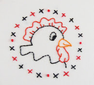 Hen from Peep-Peep-Peep embroidery pattern packet