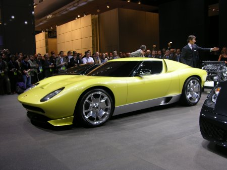 Lamborghini on Hd Car Wallpapers  Lamborghini Miura Concept