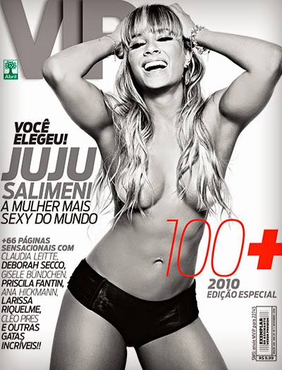 Juliana Salimeni e as 100 mais Sexy de 2010