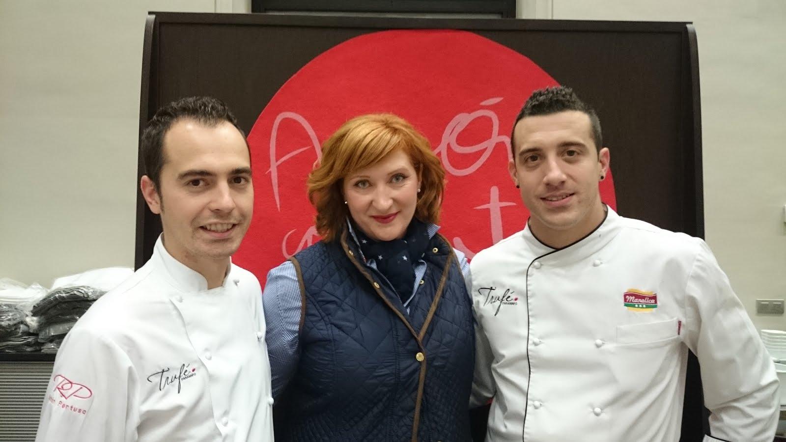 .Con Rubén Pertusa y Diego Barbero
