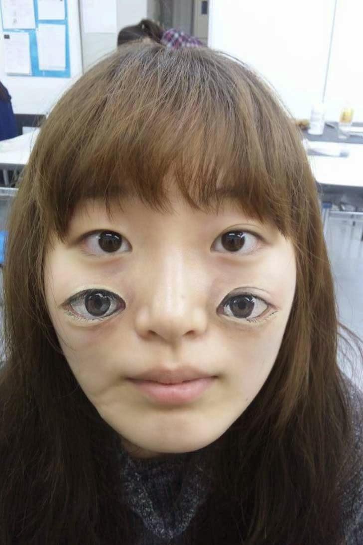 body painting por artista japonesa