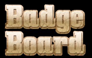 Ziggantium Badge Board