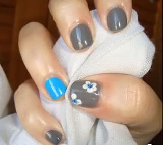 Diseño de uñas cortas
