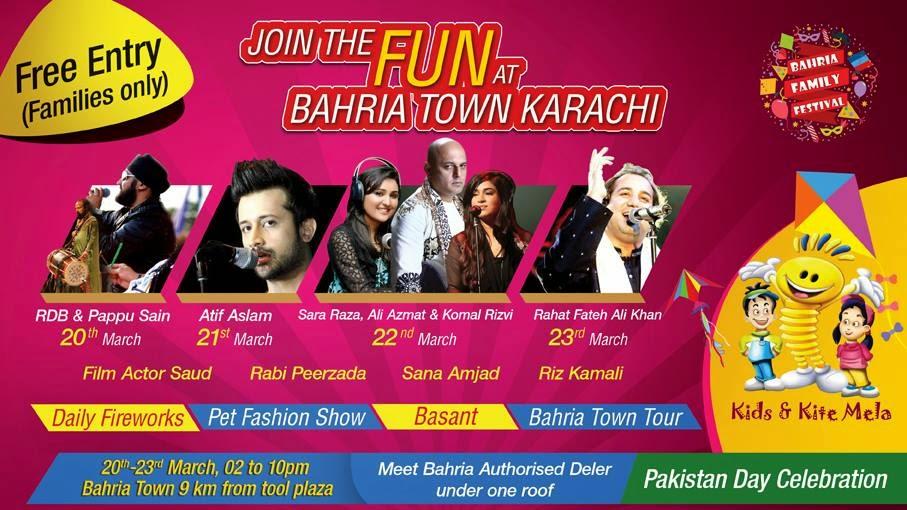 bahria family festival