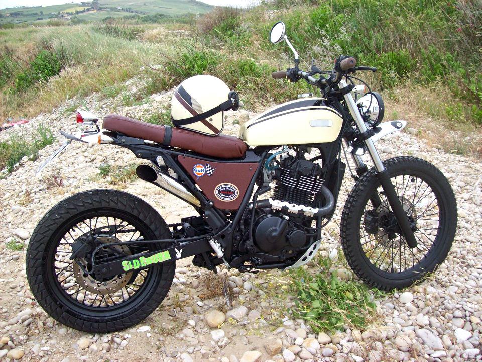 Special Scrambler By Bike Garage Inazuma Caf 233 Racer