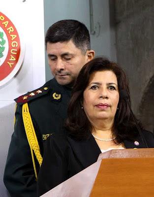 María Liz García, ministra de Defesa do Paraguai