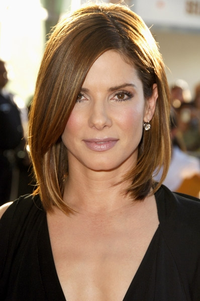Which Cut Works Best With Your Face Shape Sandra Bullock Pixie Cut