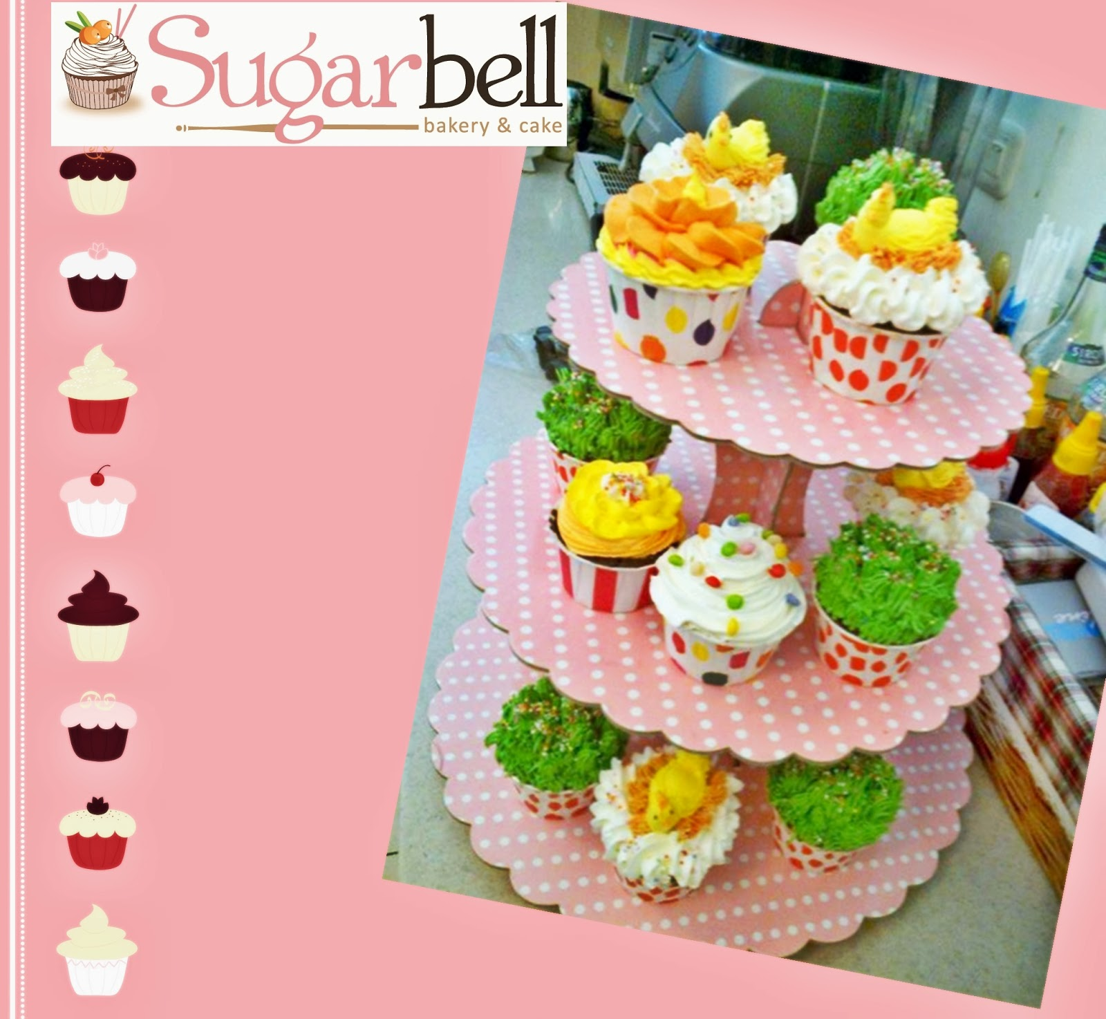 Sugarbell Bakery and Cafe cupcake