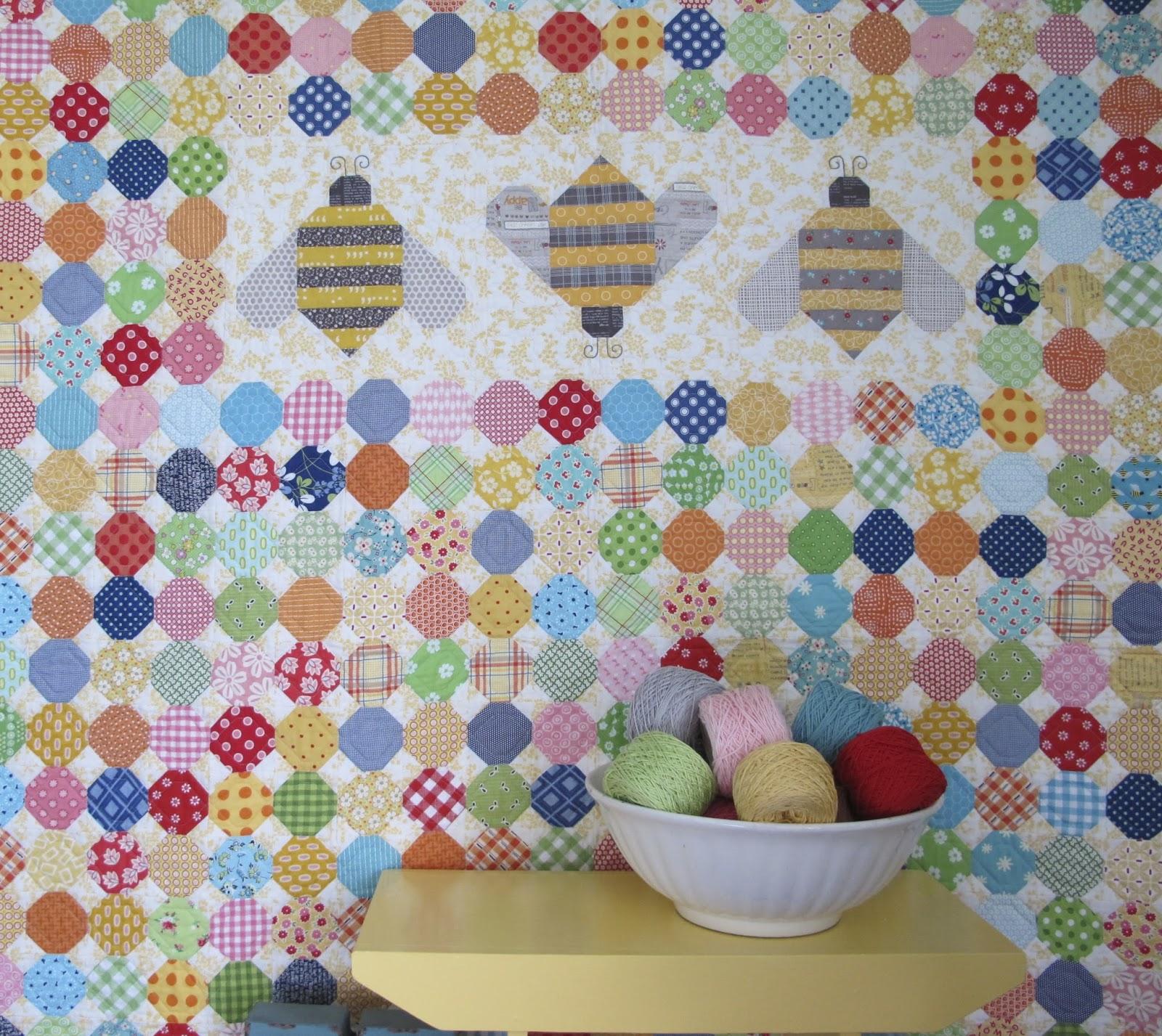 The Quilty Fun Sew Along - Week 11 - Honeycombs!!! ...