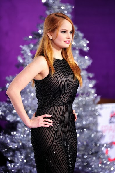 Debby Ryan Half Up Half Down Hairstyle