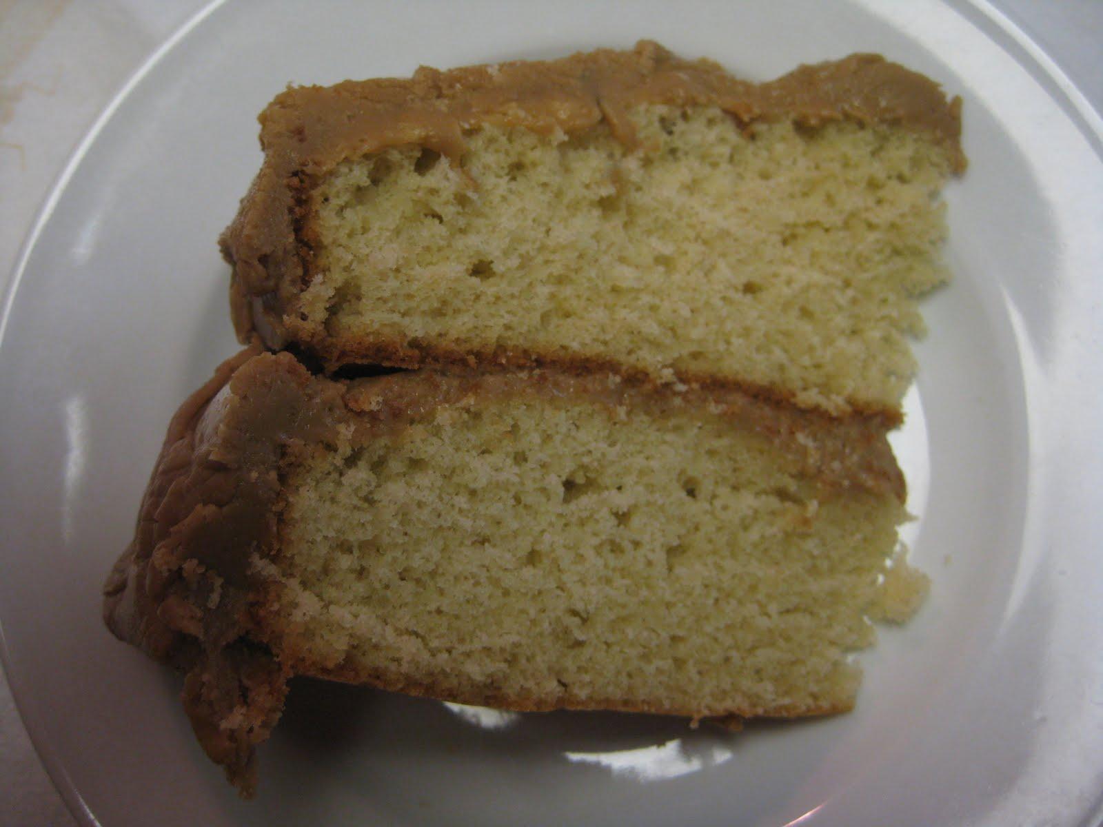 Printable Copy of Caramel Cake Recipe