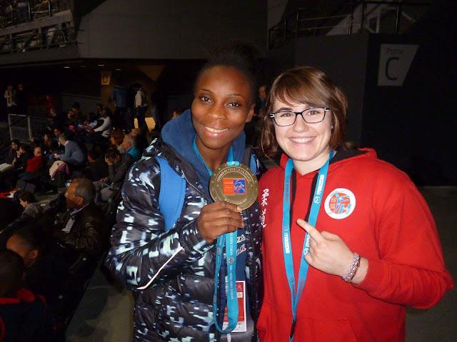 Priscilla Gneto - Alexane - Grand Slam Paris - judo - cestquoitonkim