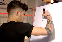 zayn malik tattoo hq pics