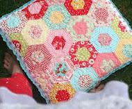 easy double hexagon pillow!
