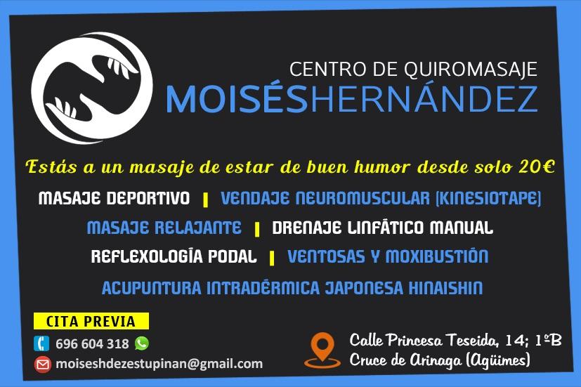 Centro de Quiromasaje Moisés Hernández