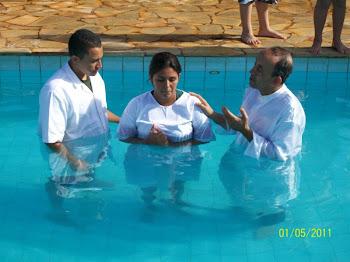Batismo Da Minha Esposa
