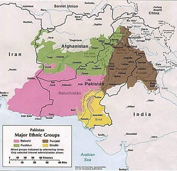 Gandhara Map